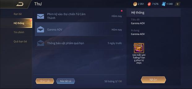 Liên Quân Mobile: Game thủ được Garena bonus thêm 999 Quân Huy sau vụ xóa Rương skin - Ảnh 2.