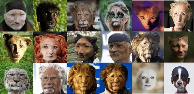 Website thần thánh biến ảnh người thành động vật và ngược lại: Nhìn kỹ mới thấy kỳ dị sởn da gà... - Ảnh 3.