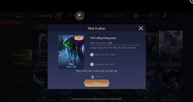 Liên Quân Mobile: Game thủ được Garena bonus thêm 999 Quân Huy sau vụ xóa Rương skin - Ảnh 4.