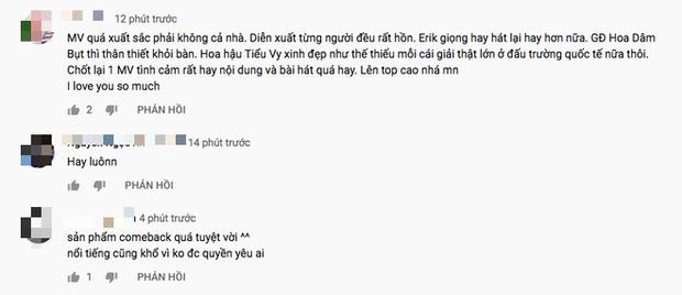 Trấn Thành - Hương Giang khen ngợi tới tấp, Hoà Minzy - Đức Phúc thì PR triệt để còn netizen thẳng thắn nhận xét MV mới của Erik nhạt! - Ảnh 14.