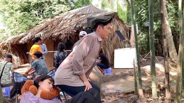Huy Khánh khiến Ngọc Lan đau khổ ở hậu trường Luật Trời - Ảnh 5.