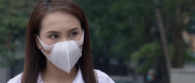 Đóng phim chống Cô Vy lại dính phốt đeo khẩu trang sai cách, Bảo Thanh vội giải thích bằng lý do cực kỳ thuyết phục - Ảnh 1.