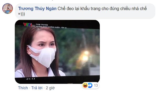 Đóng phim chống Cô Vy lại dính phốt đeo khẩu trang sai cách, Bảo Thanh vội giải thích bằng lý do cực kỳ thuyết phục - Ảnh 2.