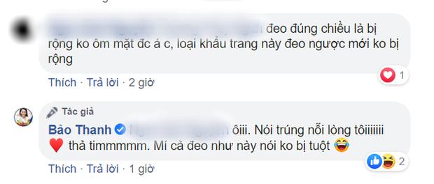 Đóng phim chống Cô Vy lại dính phốt đeo khẩu trang sai cách, Bảo Thanh vội giải thích bằng lý do cực kỳ thuyết phục - Ảnh 5.