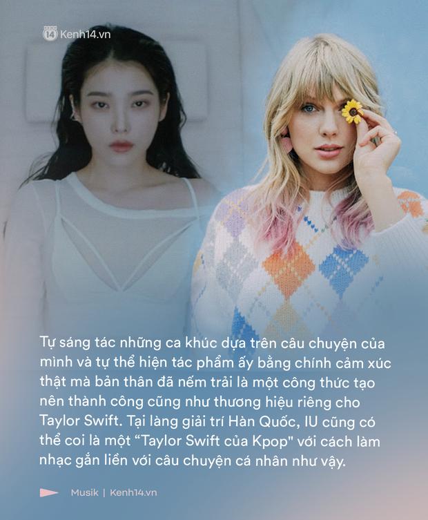 """Nghệ sĩ IU: Cô gái kể chuyện đời mình bằng ngôn ngữ âm nhạc, một """"Taylor Swift đa màu sắc và đầy trải nghiệm của Kpop? - Ảnh 2."""
