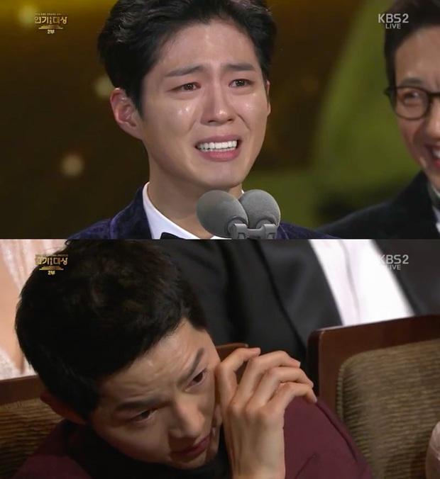 Quan hệ kỳ lạ của Song Joong Ki - Park Bo Gum: Như anh em ruột khóc vì nhau, dự cả đám cưới nhưng khác hẳn sau vụ ly dị? - Ảnh 11.