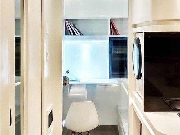 Choáng ngợp với nội thất trong căn nhà thông minh dành cho 4 người: Thiết kế như tàu vũ trụ, nhìn qua là muốn ở liền - Ảnh 12.