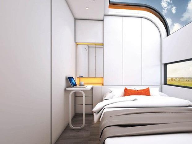 Choáng ngợp với nội thất trong căn nhà thông minh dành cho 4 người: Thiết kế như tàu vũ trụ, nhìn qua là muốn ở liền - Ảnh 3.