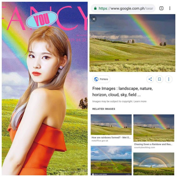 JYP thiết kế bìa album cho TWICE muôn đời vẫn phèn như vậy: Hết bị tố xài chùa stock miễn phí trên mạng, giờ lại mượn cả ý tưởng từ... nước xả vải? - Ảnh 5.