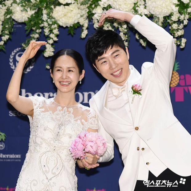 Đám cưới mỹ nhân Thư ký Kim và huyền thoại game thủ leo thẳng lên top Naver, tất cả nhờ chi tiết về Yoo Jae Suk - Ảnh 6.