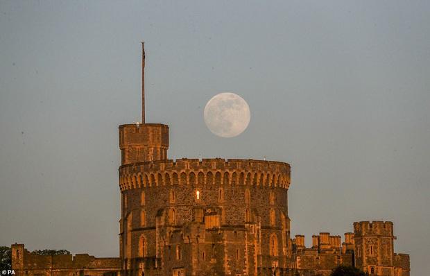 Loạt ảnh ấn tượng về siêu trăng cuối cùng của năm 2020 diễn ra vào đêm qua trên toàn thế giới - Ảnh 1.