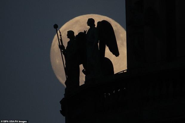 Loạt ảnh ấn tượng về siêu trăng cuối cùng của năm 2020 diễn ra vào đêm qua trên toàn thế giới - Ảnh 7.