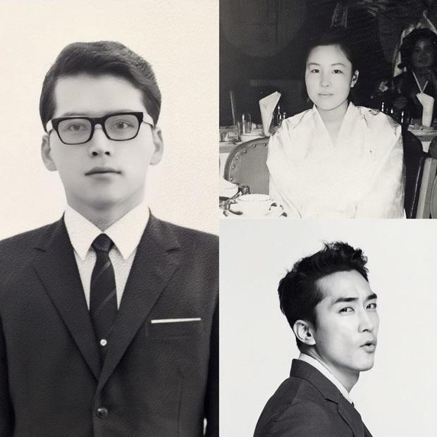 Bức ảnh gây lú nhất MXH Hàn-Việt hôm nay: Bố ruột Song Seung Hun đẹp cực phẩm, nhưng sao giống Hyun Bin thế này? - Ảnh 2.
