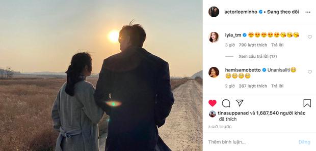 Bức ảnh đang gây nổ MXH: Ngoài mẹ ruột, đây là người phụ nữ đầu tiên Lee Min Ho khoe ảnh lên Instagram, hẹn hò đi chờ chi! - Ảnh 2.