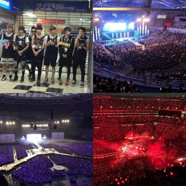BTS từng có fanmeeting 32 người tham dự, GFRIEND bán được đúng 500 album nhưng giờ cùng boygroup nhà CUBE đổi đời ngoạn mục khiến fan xúc động - Ảnh 10.