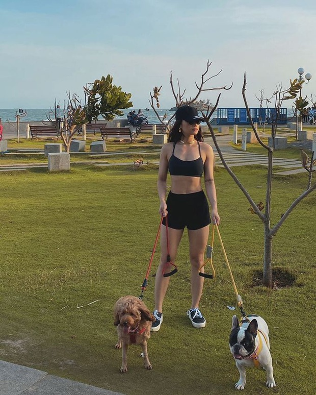 Miu Lê và màn lột xác ngoạn mục hậu giảm cân: Chế độ ăn không cắt cơm, tập gym chăm chỉ suốt 13 tháng - Ảnh 4.