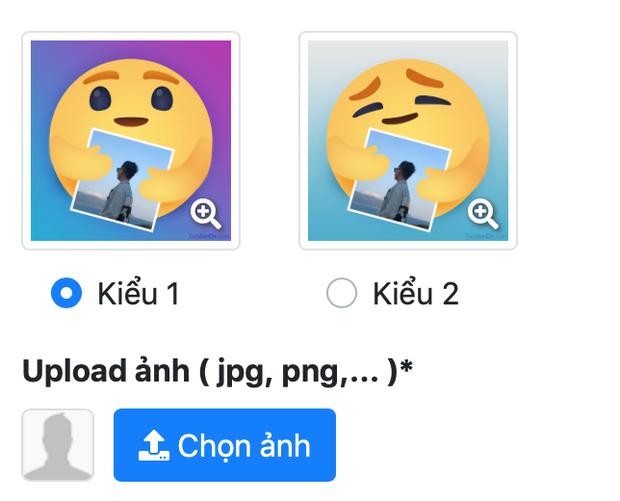 Tự tạo react thương thương của Facebook theo phong cách riêng mình: Chẳng cần thông thạo Photoshop, chỉ vài click là xong - Ảnh 2.