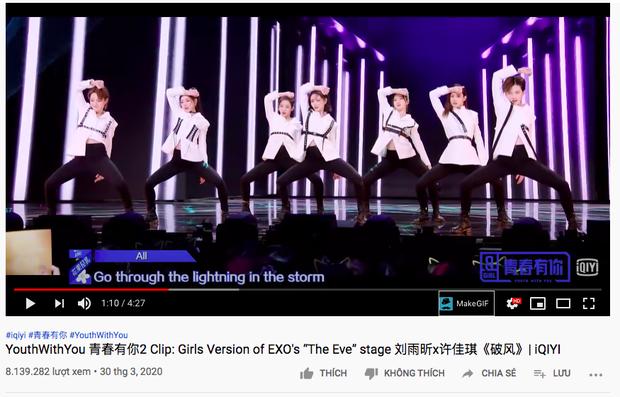Sân khấu cover The Eve (EXO) của dàn thực tập sinh TXCB 2 lội ngược dòng, vượt mặt cả màn chào sân solo của lão sư Lisa - Ảnh 5.