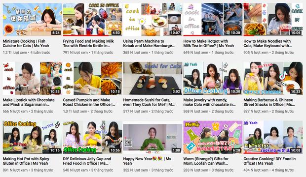 """Sự nghiệp của Tiểu Dã - """"thánh ăn văn phòng"""" nửa năm sau scandal bé 14 tuổi bắt chước clip rồi tử vong: Làm video """"nhạt"""" hẳn, views… xuống dốc không phanh - Ảnh 4."""