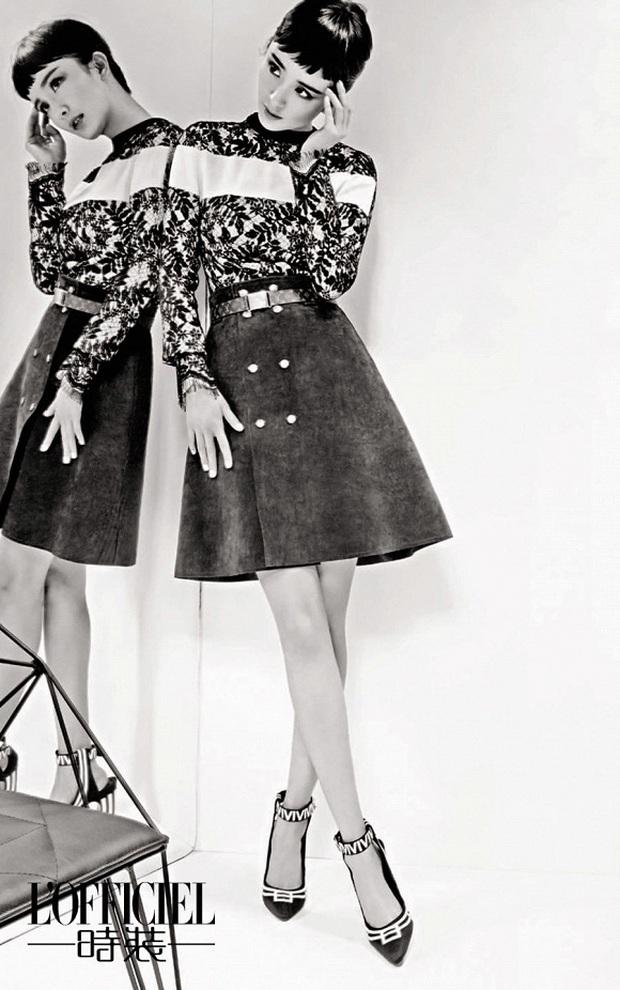 Nữ thần Cbiz hoá thân thành Audrey Hepburn: Angela Baby - Dương Mịch kiêu sa sang chảnh, kéo đến mỹ nhân cuối ai cũng hết hồn - Ảnh 11.