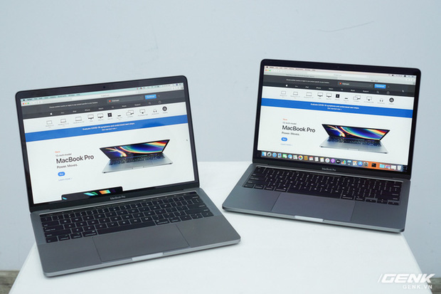 Cận cảnh MacBook Pro 13 2020 tại Việt Nam: Bàn phím Magic Keyboard mới, kích thước tương đương bản 2019, giá vẫn khá chát - Ảnh 12.