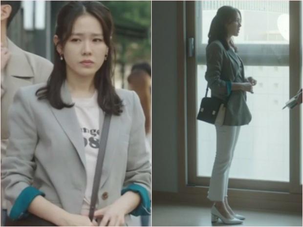 Nhìn dàn sao trong phim Hàn mà học được bao cách lên đồ với áo thun trắng, diện lên vừa mát lại vừa xịn - Ảnh 4.