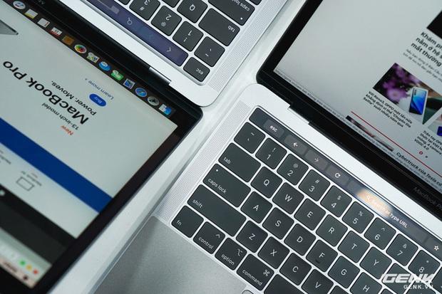 Cận cảnh MacBook Pro 13 2020 tại Việt Nam: Bàn phím Magic Keyboard mới, kích thước tương đương bản 2019, giá vẫn khá chát - Ảnh 9.