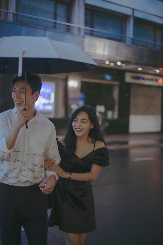 Alan Phạm - Vũ Thanh Quỳnh tung bộ hình cực lãng mạn dưới mưa: Ai nói yêu xa khó lắm? - Ảnh 3.