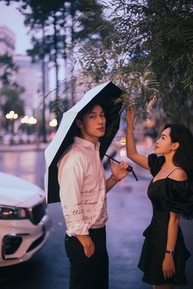 Alan Phạm - Vũ Thanh Quỳnh tung bộ hình cực lãng mạn dưới mưa: Ai nói yêu xa khó lắm? - Ảnh 4.