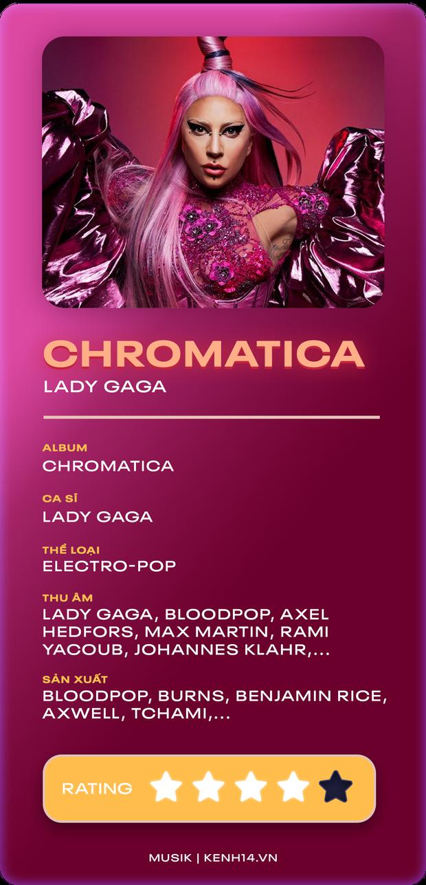 CHROMATICA - Lady Gaga: Nữ hoàng Electro-pop của 2009 thực sự trở lại! - Ảnh 15.