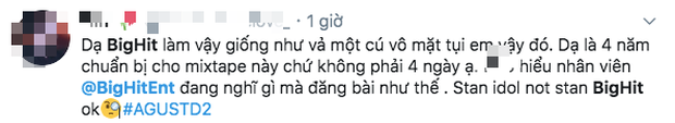 Vừa cười khẩy khẳng định giăng bẫy bắt antifan, cuối cùng SUGA (BTS) lại tự sập bẫy khi ca khúc bị chỉ trích dữ dội? - Ảnh 7.