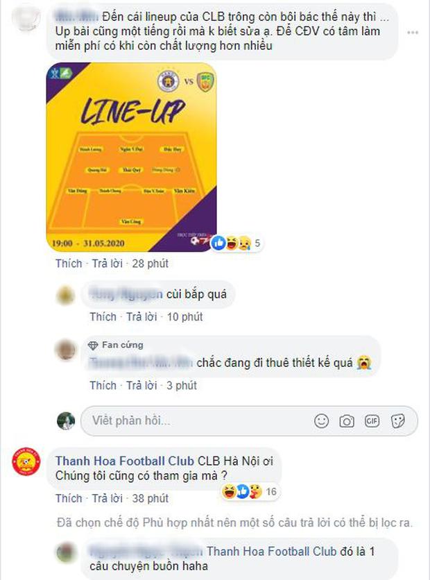 Fan phẫn nộ vì bài đăng thiếu thông tin của Fanpage Hà Nội FC - Ảnh 2.