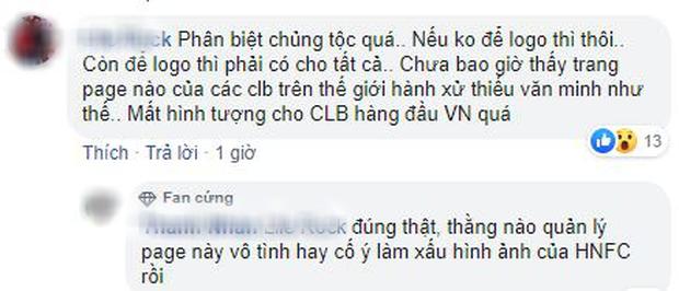 Fan phẫn nộ vì bài đăng thiếu thông tin của Fanpage Hà Nội FC - Ảnh 5.