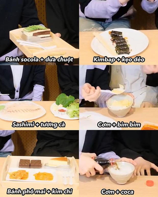 """Màn mukbang """"nhìn thôi đã thấy đau bụng"""" của hai nam idol Hàn Quốc: socola với dưa chuột, phô mai với kim chi và còn hơn thế nữa! - Ảnh 1."""