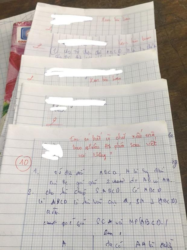 Chép bài của nam sinh điểm 10, cả nhóm nhận trái đắng vì lý do này - Ảnh 1.