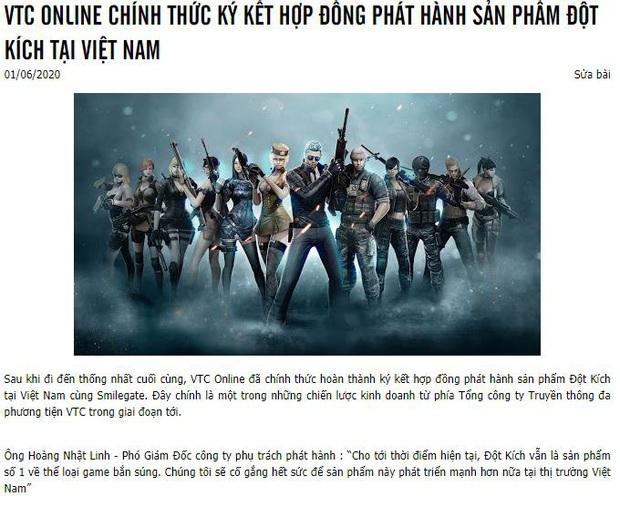 Nóng: Không có chuyện Đột Kích đóng cửa tại Việt Nam, chỉ là VTC Online chơi trò sang tên đổi chủ - Ảnh 1.