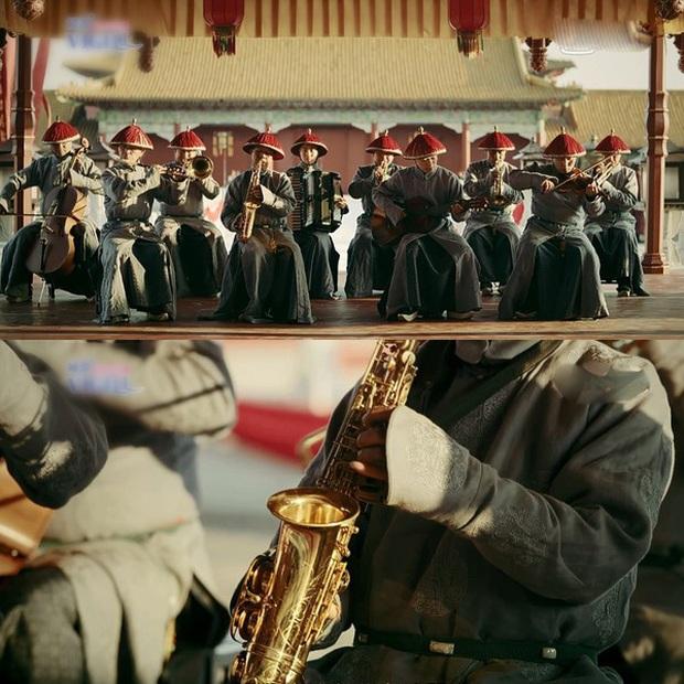 Loạt sạn hài hước trong phim Hoa ngữ: Điện thoại, giày thể thao bất ngờ xuyên không về thời cổ trang - Ảnh 4.