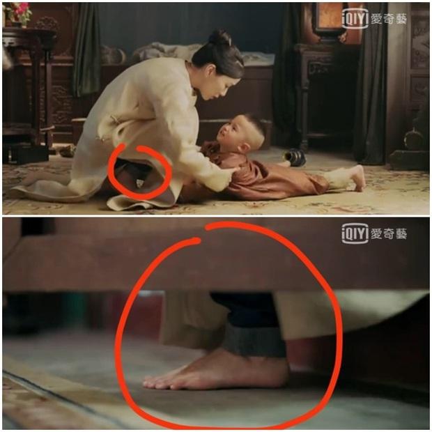 Loạt sạn hài hước trong phim Hoa ngữ: Điện thoại, giày thể thao bất ngờ xuyên không về thời cổ trang - Ảnh 5.