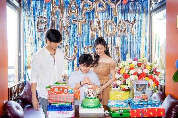 Tim và Trương Quỳnh Anh bất ngờ tái ngộ trong dịp sinh nhật con trai: Dù ly hôn nhưng vẫn giữ thái độ đáng ngưỡng mộ - Ảnh 2.