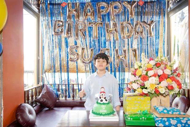 Tim và Trương Quỳnh Anh bất ngờ tái ngộ trong dịp sinh nhật con trai: Dù ly hôn nhưng vẫn giữ thái độ đáng ngưỡng mộ - Ảnh 4.