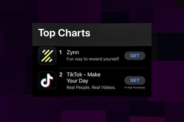 Xuất hiện ứng dụng nhái TikTok, trả tiền cho người xem video, leo luôn top 1 App Store - Ảnh 1.