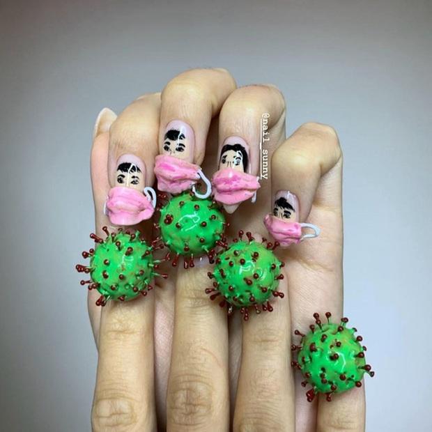 Chán kiểu móng tay đẹp quyến rũ, cặp chị em thợ làm nail sáng tạo ra bộ móng nguy hiểm, nhìn thôi cũng đủ sợ - Ảnh 11.