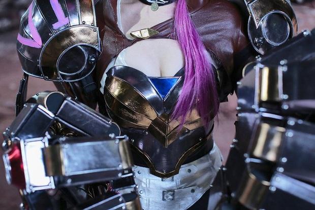 Mướt mát đầu tuần với bộ ảnh cosplay Vi bức tử vòng 1, càng ngỡ ngàng khi biết quá trình hoàn thiện phía sau - Ảnh 17.