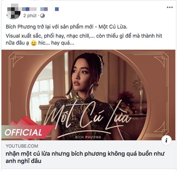 BigDaddy, Orange và netizen đồng loạt ca ngợi MV Một Cú Lừa của Bích Phương, lừa người ta thế này bảo sao @traitimtrongvang bị block! - Ảnh 5.
