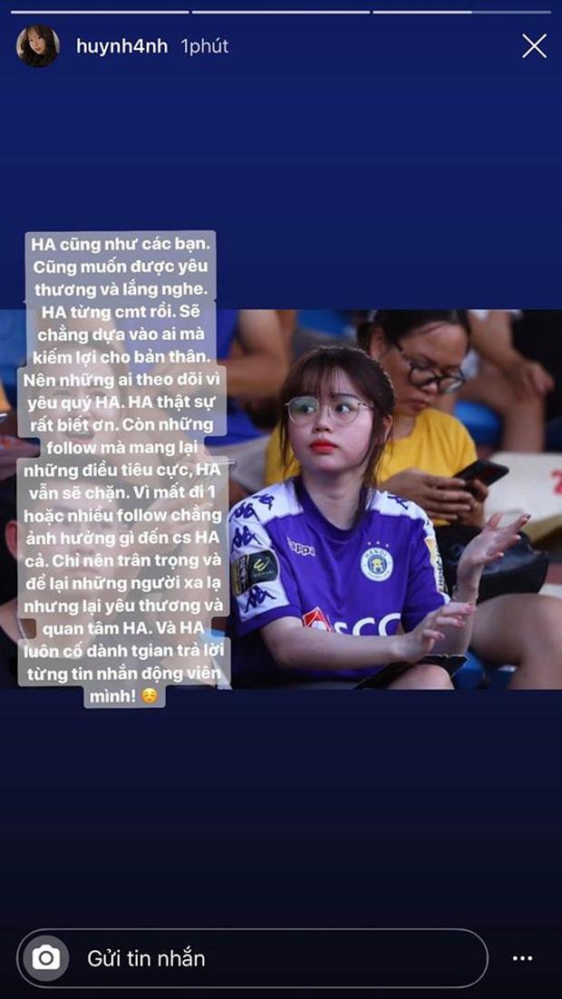 """Giữa đêm Huỳnh Anh lên tiếng chia sẻ áp lực khi yêu Quang Hải, còn tỏ thái độ """"căng đét khi bị so sánh với Nhật Lê? - Ảnh 5."""