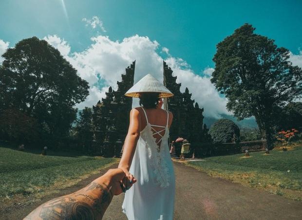 Nữ chính Người ấy là ai từng được bạn trai cũ chụp cho bộ hình Đưa em đi khắp Bali gây sốt mạng xã hội - Ảnh 3.