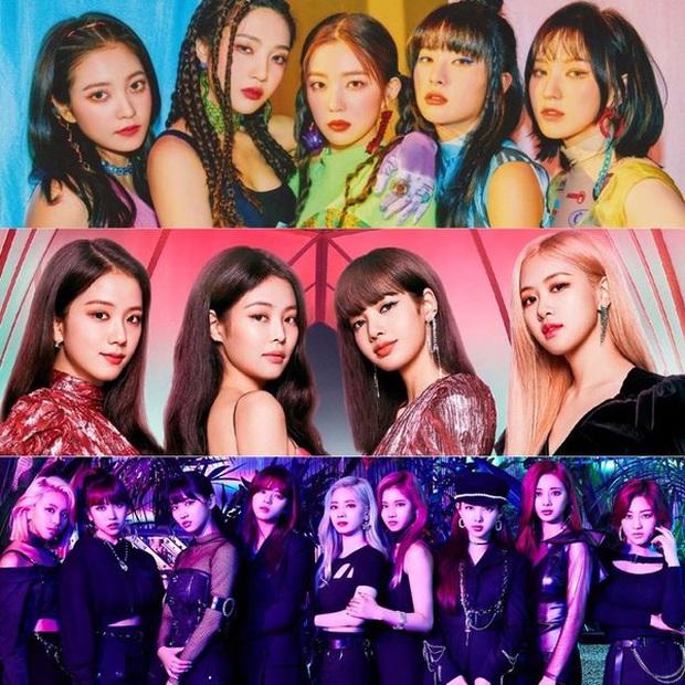 Đoạn trailer khiến netizen rớt liêm sỉ: Khi BLACKPINK, TWICE và Red Velvet hoá hội chị em băng cướp siêu ngầu làm fan tự nguyện dâng cả con tim - Ảnh 1.