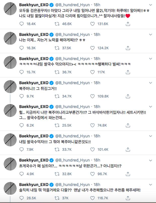 """Không ngờ Baekhyun (EXO) """"cuồng"""" phở Việt thế này: Nửa đêm thèm phở cồn cào, hôm sau order ăn bằng được! - Ảnh 1."""
