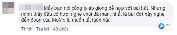 Momo (TWICE) bị netizen chê bai tơi tả khi hát live mừng chiến thắng, cất giọng 1 câu siêu choé rồi lộ vẻ khó xử ra mặt - Ảnh 3.