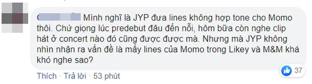 Momo (TWICE) bị netizen chê bai tơi tả khi hát live mừng chiến thắng, cất giọng 1 câu siêu choé rồi lộ vẻ khó xử ra mặt - Ảnh 8.